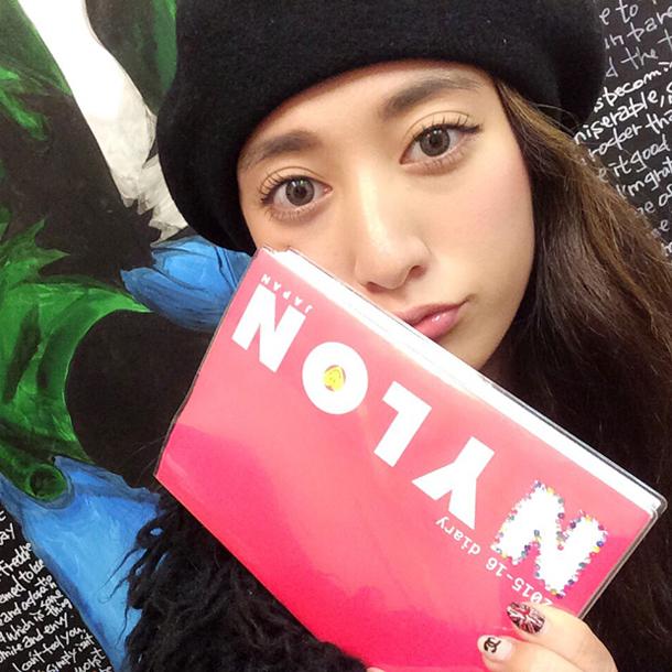 Model: Saki Murata (NYLON JAPAN Official Blogger)