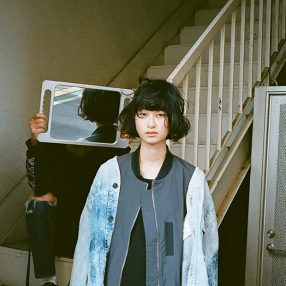 Long MA-1 Coat: Uke. / Denim JK: Used / Socks: WITHOUT RULERS / その他スタイリスト私物