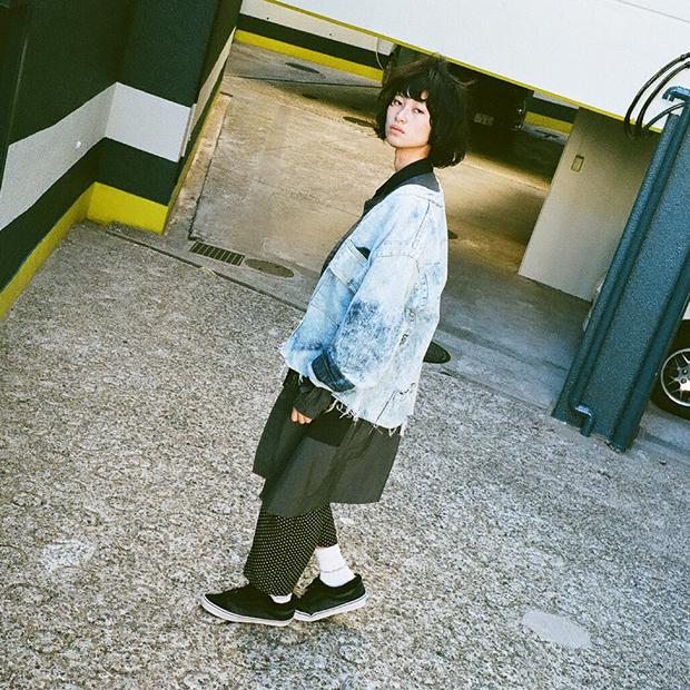 Long MA-1 Coat: Uke. / Denim JK: Used / Socks: WITHOUT RULERS / その他スタイリスト私物
