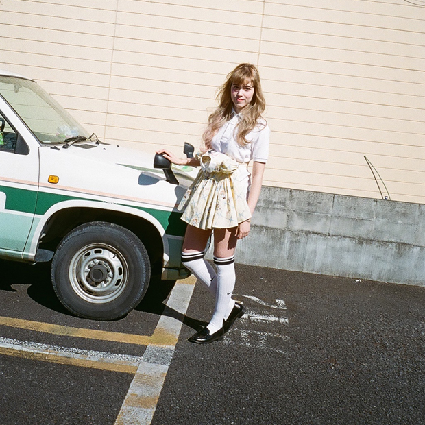 Shirt:  MIKIO SAKABE (WALL harajuku) / Belt: Jenny Fax (WALL harajuku) / Bloomers: Lochie