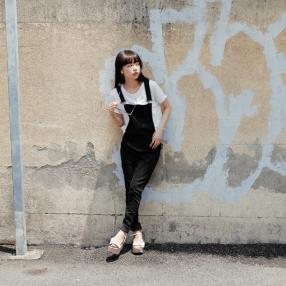 Dungaree Black: ¥12,000 (CHEAP MONDAY)