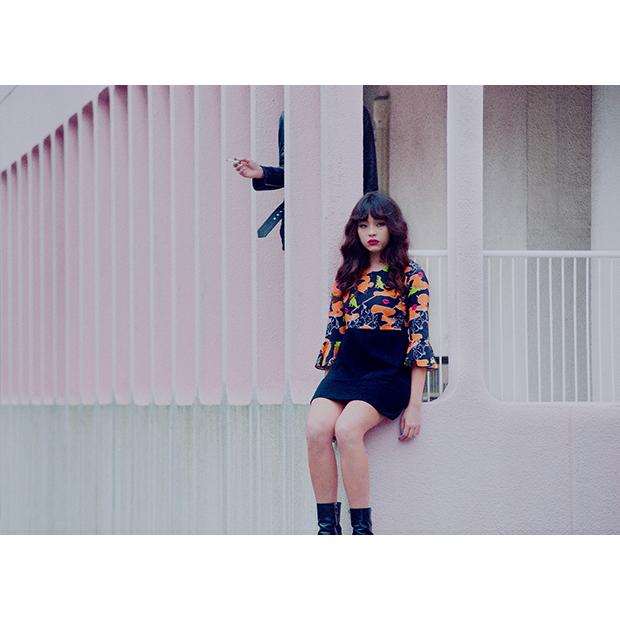 Designer & Director: Yulia / Photographer:Satomi Yamauchi / Graphic Design:Aika Komine / Hair & Makeup:Rie Shiraishi / Model:Serina Motora / Art Director:Yoruko Banzai