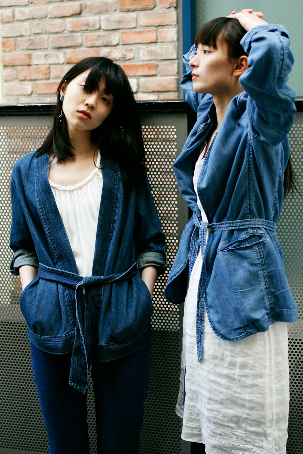 Left: Miyu Otani (jungle) / Lee Momoka (eva management)