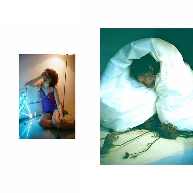 Photographer: takako-noel  / Hair-make: Kaori Shinohara  / Model: ania / Flower: Megumi Shinozaki