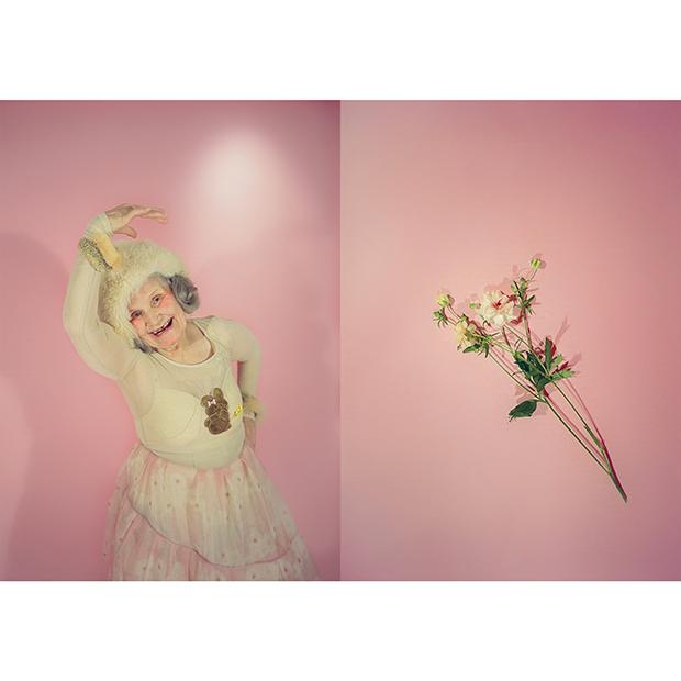 Photographer: Tammy Volpe / Hair-make: Kaori Shinohara / Flower: Megumi Shinozaki