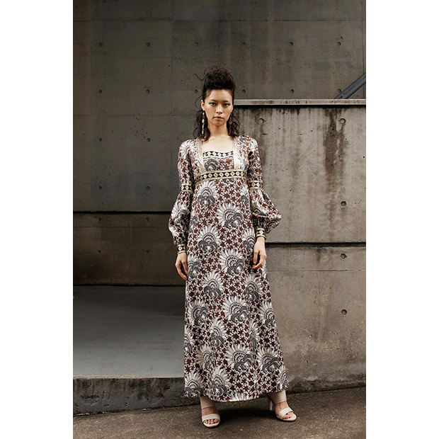 Vintage Long Dress: EVA