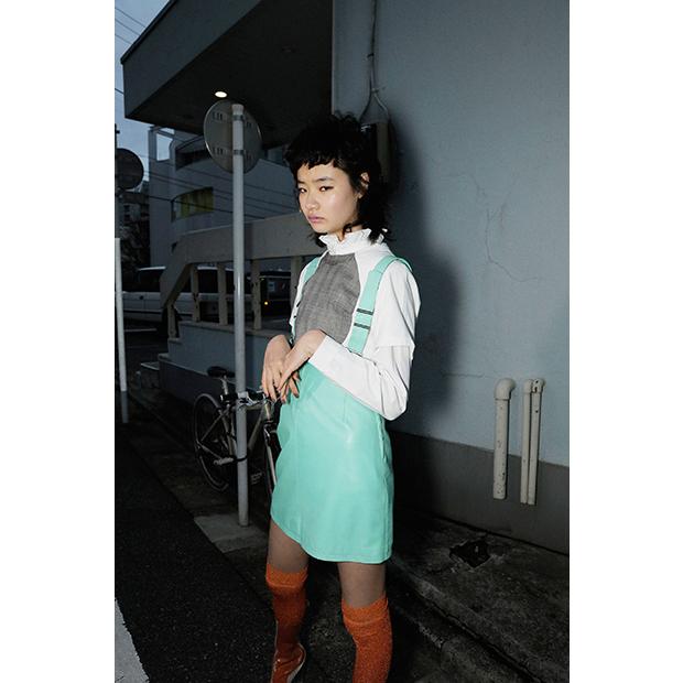 Vintage Salopette Skirt: EVA