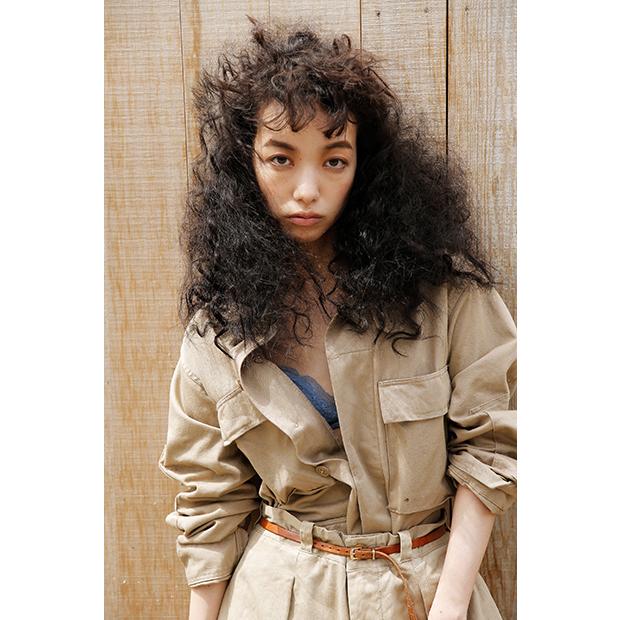 Jacket: Used / Pants: Used / Shoes: OSHIMA REI