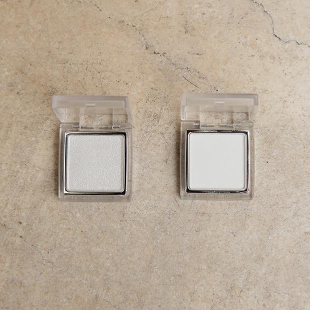 RMK インジーニアス パウダーアイズ N 01 ホワイト / RMK インジーニアス パウダーアイズ N 24 シャイニーホワイトシルバー